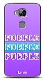 Huawei G8 Purple Design Kılıf