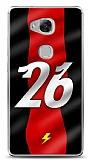 Dafoni Huawei GR5 Kırmızı Şimşekler Kılıf