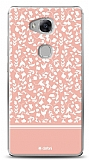 Huawei GR5 Pink Flower Kılıf