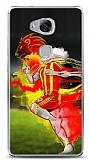 Dafoni Huawei GR5 Sarı Kırmızı Kılıf