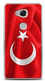 Dafoni Huawei GR5 Türk Bayrağı Kılıf