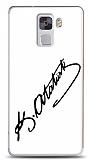 Dafoni Huawei Honor 7 Atatürk İmza Beyaz Kılıf