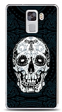 Huawei Honor 7 Black Skull Kılıf