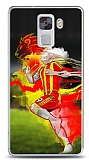 Dafoni Huawei Honor 7 Sarı Kırmızı Kılıf