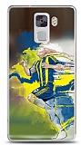 Dafoni Huawei Honor 7 Sarı Lacivert Kılıf