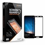 Dafoni Huawei Mate 10 Lite Tempered Glass Premium Full Siyah Cam Ekran Koruyucu