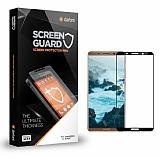 Dafoni Huawei Mate 10 Pro Tempered Glass Premium Full Siyah Cam Ekran Koruyucu
