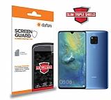 Dafoni Huawei Mate 20 X Slim Triple Shield Ekran Koruyucu