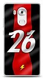 Huawei Mate 8 Kırmızı Şimşekler Kılıf