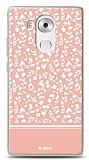 Huawei Mate 8 Pink Flower Kılıf