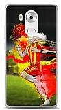 Huawei Mate 8 Sarı Kırmızı Kılıf