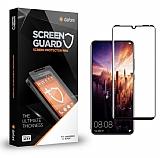 Dafoni Huawei P30 Pro Curve Tempered Glass Premium Full Siyah Cam Ekran Koruyucu