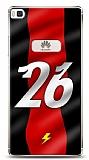 Huawei P8 Kırmızı Şimşekler Kılıf