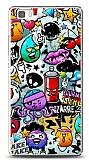 Dafoni Huawei P8 Lite Grafitti 2 Kılıf