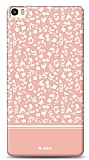 Dafoni Huawei P8max Pink Flower Kılıf