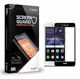 Dafoni Huawei P9 Lite 2017 Tempered Glass Premium Full Siyah Cam Ekran Koruyucu