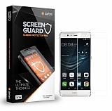 Dafoni Huawei P9 / P9 Lite Tempered Glass Premium Şeffaf Beyaz Full Cam Ekran Koruyucu