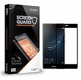 Dafoni Huawei P9 / P9 Lite Tempered Glass Premium Siyah Full Cam Ekran Koruyucu