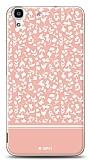 Huawei Y6 Pink Flower Kılıf