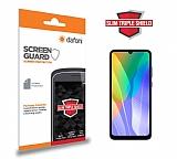 Dafoni Huawei Y6p Slim Triple Shield Ekran Koruyucu