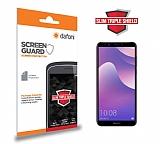 Dafoni Huawei Y7 2018 Slim Triple Shield Ekran Koruyucu