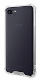 Dafoni Hummer Asus Zenfone 4 Max ZC554KL Ultra Koruma Silikon Kenarlı Şeffaf Kılıf