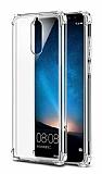Dafoni Hummer Huawei Mate 10 Lite Ultra Koruma Silikon Kenarlı Şeffaf Kılıf