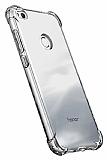 Dafoni Hummer Huawei P9 Lite 2017 Ultra Koruma Silikon Kenarlı Şeffaf Kılıf