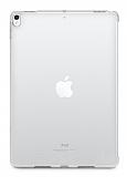 Dafoni Hummer iPad 10.2 Ultra Koruma Silikon Kenarlı Şeffaf Kılıf