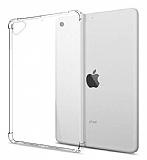 Dafoni Hummer iPad Air 2 Ultra Koruma Silikon Kenarlı Şeffaf Kılıf