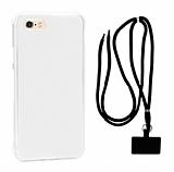 Dafoni Hummer iPhone 7 / 8 Siyah Askılı Ultra Koruma Kılıf