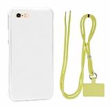 Dafoni Hummer iPhone 7 / 8 Sarı Askılı Ultra Koruma Kılıf