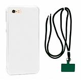 Dafoni Hummer iPhone SE 2020 Yeşil Askılı Ultra Koruma Kılıf