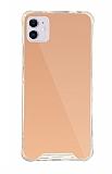 Dafoni Hummer Mirror iPhone 11 Aynalı Rose Gold Silikon Kılıf
