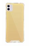Dafoni Hummer Mirror iPhone 11 Aynalı Gold Silikon Kılıf