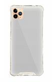 Dafoni Hummer Mirror iPhone 11 Pro Aynalı Silver Silikon Kılıf