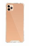 Dafoni Hummer Mirror iPhone 11 Pro Aynalı Rose Gold Silikon Kılıf