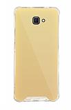 Dafoni Hummer Mirror Samsung Galaxy J7 Prime Aynalı Gold Silikon Kılıf