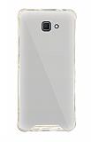 Dafoni Hummer Mirror Samsung Galaxy J7 Prime Aynalı Silver Silikon Kılıf