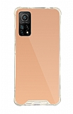 Dafoni Hummer Mirror Xiaomi Mi 10T Pro 5G Aynalı Rose Gold Silikon Kılıf