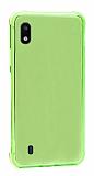 Dafoni Hummer Samsung Galaxy A10 Ultra Koruma Silikon Kenarlı Yeşil Kılıf