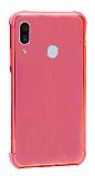 Dafoni Hummer Samsung Galaxy A20 / A30 Ultra Koruma Silikon Kenarlı Kırmızı Kılıf