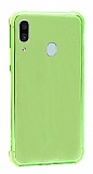 Dafoni Hummer Samsung Galaxy A20 / A30 Ultra Koruma Silikon Kenarlı Yeşil Kılıf
