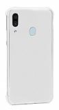 Dafoni Hummer Samsung Galaxy A20 / A30 Ultra Koruma Silikon Kenarlı Şeffaf Kılıf