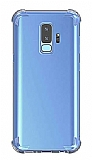 Dafoni Hummer Samsung Galaxy A6 Plus 2018 Ultra Koruma Silikon Kenarlı Şeffaf Kılıf