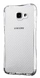 Dafoni Hummer Samsung Galaxy A7 2016 Ultra Koruma Silikon Kenarlı Şeffaf Kılıf