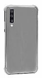 Dafoni Hummer Samsung Galaxy A7 2018 Ultra Koruma Silikon Kenarlı Siyah Kılıf