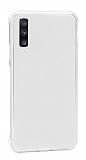 Dafoni Hummer Samsung Galaxy A7 2018 Ultra Koruma Silikon Kenarlı Şeffaf Kılıf