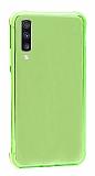 Dafoni Hummer Samsung Galaxy A7 2018 Ultra Koruma Silikon Kenarlı Yeşil Kılıf