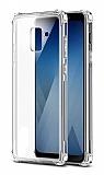 Dafoni Hummer Samsung Galaxy J4 Ultra Koruma Silikon Kenarlı Şeffaf Kılıf